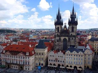 プラハの広場の写真・画像素材[929942]