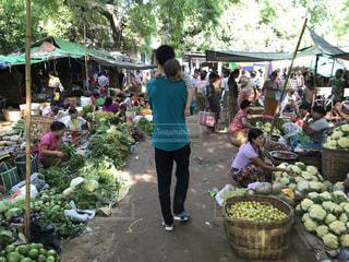 ミャンマー   マーケット   旅行の写真・画像素材[930099]