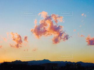 走る雲の写真・画像素材[943027]