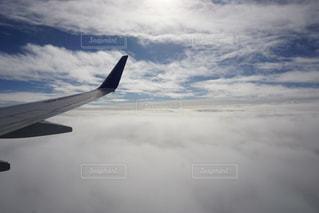 飛行機から見える景色の写真・画像素材[929634]