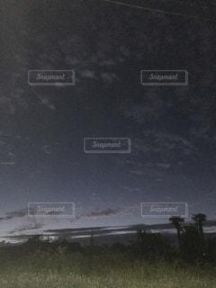 田舎の夜明けの写真・画像素材[1022604]