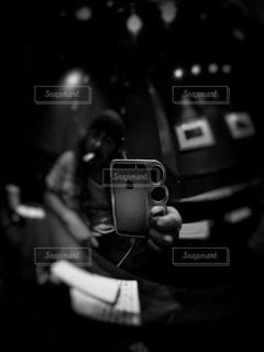 黒と銀の電話 - No.930656