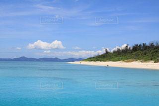 水納島ビーチの写真・画像素材[931203]