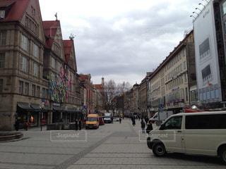 ドイツ街並み 道路の写真・画像素材[931639]