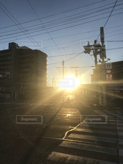 冬の朝  2018/1/2の写真・画像素材[939247]