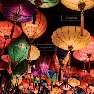 アジアな提灯の写真・画像素材[934558]