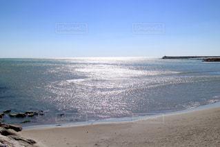 フランス地中海の砂浜の写真・画像素材[954502]