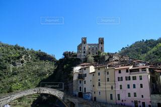 イタリアの田舎街の写真・画像素材[1074172]