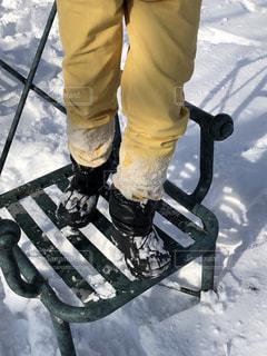 雪遊び中の写真・画像素材[941511]