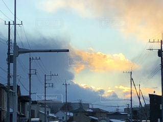 空には雲のグループの写真・画像素材[977112]