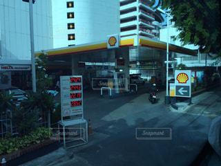No.218876 ガソリンスタンド