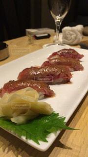 肉の寿司の写真・画像素材[932806]