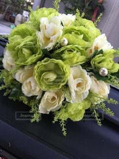 近くの花のアップの写真・画像素材[1005622]