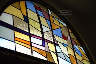 教会のステンドグラスの写真・画像素材[933531]
