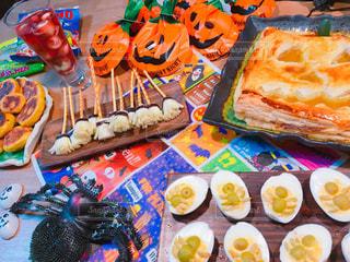 ハロウィンのスプーキーなお菓子の写真・画像素材[934306]