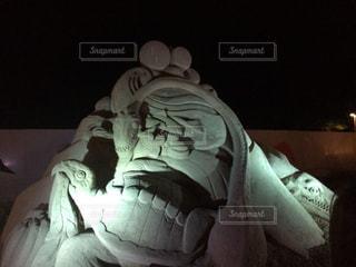 砂の彫刻の写真・画像素材[933933]