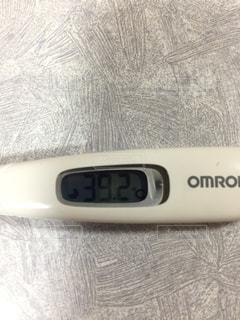 体温計アップの写真・画像素材[934173]