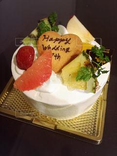 結婚記念日のフルーツケーキ - No.934385