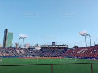 野球観戦行きましたの写真・画像素材[1582479]