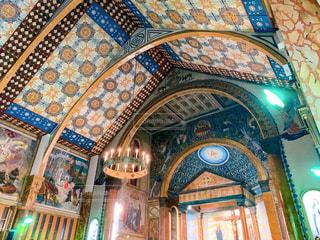 碑文谷のサレジオ教会の写真・画像素材[2824113]