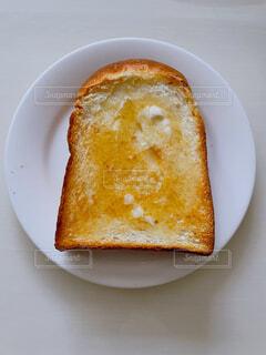ハチミツバタートーストの写真・画像素材[4621198]