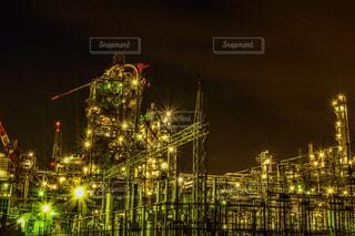 四日市の発電所の写真・画像素材[936080]