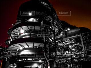 近未来的な発電所の写真・画像素材[937777]