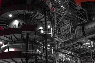 近未来的な発電所の写真・画像素材[937778]