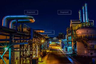 尼崎の工場の写真・画像素材[951232]