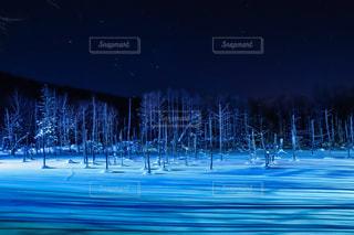 素晴らしい自然夜景の時間の写真・画像素材[958805]