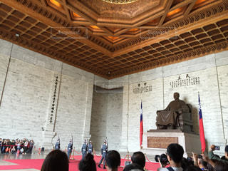 中正記念堂にての写真・画像素材[936136]