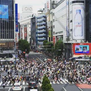 渋谷スクランブル交差点の写真・画像素材[936063]