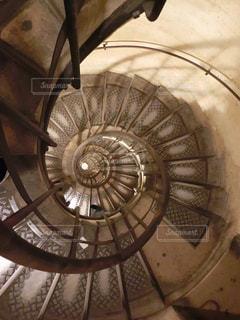 螺旋階段の写真・画像素材[1726840]