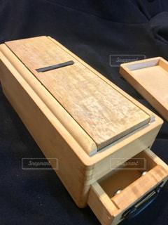 木製の箱の写真・画像素材[937953]