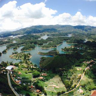 グアタペの町の写真・画像素材[938593]