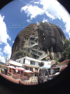 グアタペの山の写真・画像素材[938595]