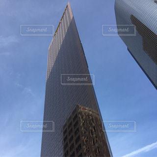 背の高い建物の表示の写真・画像素材[938372]