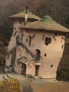 古い石造りの建物の写真・画像素材[938883]