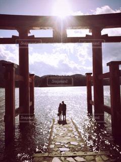 箱根神社前の写真・画像素材[943378]