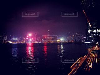 香港の夜景の写真・画像素材[1182523]