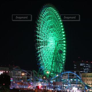 横浜みなとみらい 観覧車の写真・画像素材[944731]