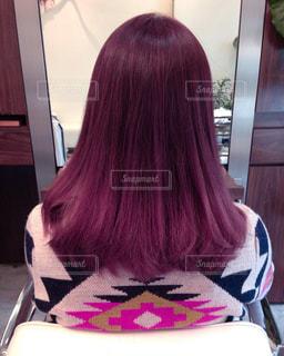 ピンク髪の写真・画像素材[973945]