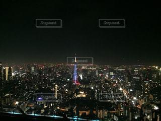 夜の街の景色の写真・画像素材[939514]