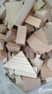 木製テーブルの写真・画像素材[939714]