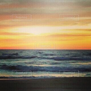 砂浜と海と空の写真・画像素材[4746358]