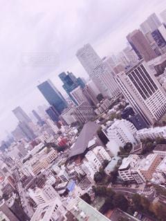 東京タワーからの眺めの写真・画像素材[943843]