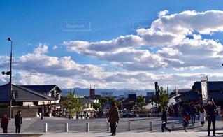 出雲大社前からの絶景の写真・画像素材[944686]
