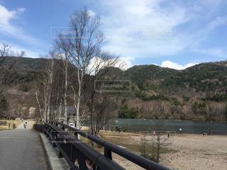 湖畔の一風景の写真・画像素材[940702]