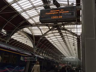 イギリス ロンドン パディントン駅にての写真・画像素材[940662]