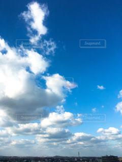 新しい年の空の写真・画像素材[940442]